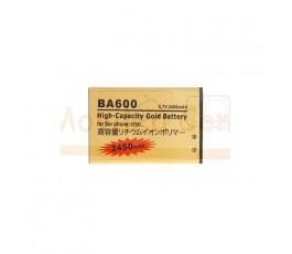 Bateria Gold de 2450mAh para Sony Xperia U ST25 BA600
