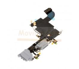 Flex conector carga micrófono y jack para iPhone 6S Gris