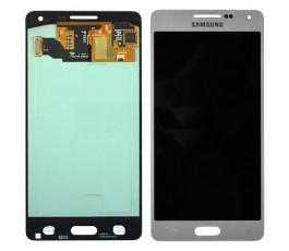 Pantalla Completa para Samsung Galaxy A5 A500 Plata