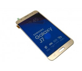 Pantalla completa tactil y lcd Samsung Galaxy J7 2016 J710 dorada