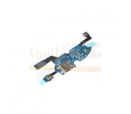 Flex Modulo Conector Carga Usb Microfono y Conexion Antena para Samsung Galaxy S4 Mini i9190 i9195