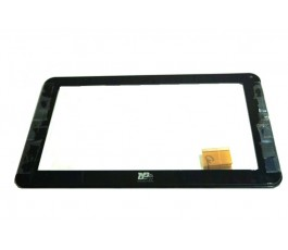 Pantalla tactil con marco para Best Buy Easy Home Tablet 9 negra