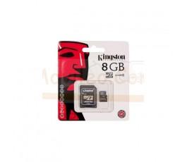 TARJETA MEMORIA MICROSD 8GB KINGSTON