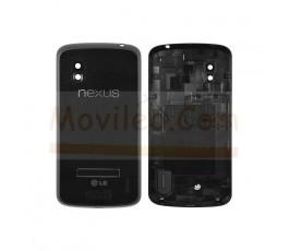 Carcasa, Tapa Trasera Negra Carcasa Lg Nexus 4 E960