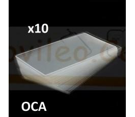 Adhesivo Oca para iPhone 5 5c 5s 10unidades