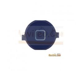 Botón de menú home azul oscuro para iPhone 3G 3GS 4G