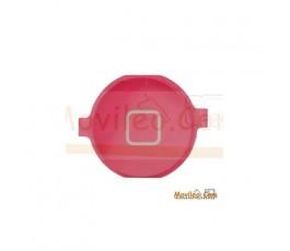 Botón de menú home rosa para iPhone 3G 3GS 4G