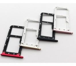 Porta tarjeta sim para Xiaomi Mi 5X Mi5x Mi1A Mi 1A negro