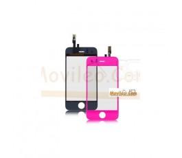 Pantalla táctil color rosa fucsia para iPhone 3Gs