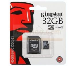 TARJETA MEMORIA MICROSD 32GB KINGSTON