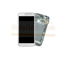 Pantalla Completa Blanca Con Marco para Samsung Galaxy Mega i9200 i9205