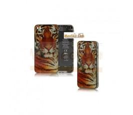 Carcasa trasera, tapa de batería modelo tigre 2 para iPhone 4