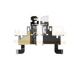 Flex Conector de Carga Microfono y Jack Blanco para iPhone 6