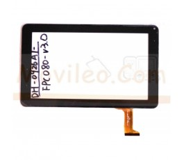 Pantalla Tactil para Tablet de 9´´ Referencia Flex: DH-0926A1-PG-FPC080-V3.0 Negro