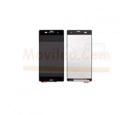 Pantalla Completa Negra para Sony Xperia Z3 L55T D6603 D6643 D6653