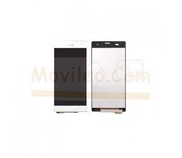 Pantalla Completa Blanca para Sony Xperia Z3 L55T D6603 D6643 D6653