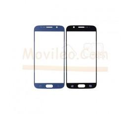 Cristal para Samsung Galaxy S6 G920F Azul Oscuro