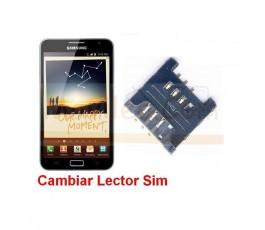 Reparar Lector Sim Samsung Galaxy Note, N7000
