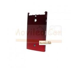 Carcasa Trasera Original, Tapa de Batería Roja para Sony Xperia P, LT22I