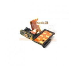 Flex para Sony Xperia S lt26i con conector de auriculares y pulsador de encendido