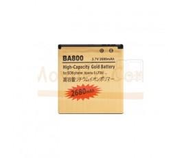 Bateria Gold de 1800mAh para Sony Xperia LT26 S 2T25 V BA800