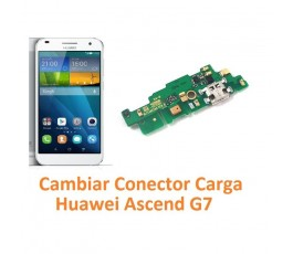 Cambiar Conector Carga Huawei Ascend G7 - Imagen 1