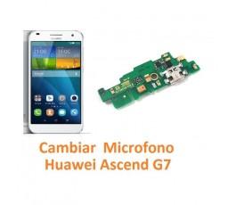 Cambiar Micrófono Huawei Ascend G7 - Imagen 1