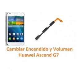 Cambiar Encendido y Volumen Huawei Ascend G7 - Imagen 1