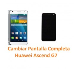 Cambiar Pantalla Completa Huawei Ascend G7 - Imagen 1