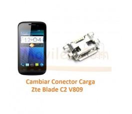 Cambiar Conector Carga Zte Blade C2 V809 - Imagen 1