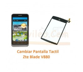 Cambiar Pantalla Tactil Zte Blade V880 Orange San Francisco - Imagen 1