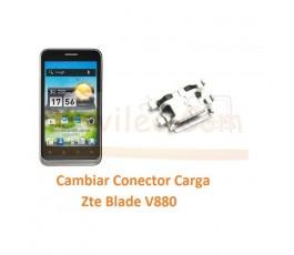 Cambiar Conector Carga Zte Blade V880 Orange San Francisco - Imagen 1