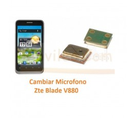 Cambiar Microfono Zte Blade V880 Orange San Francisco - Imagen 1