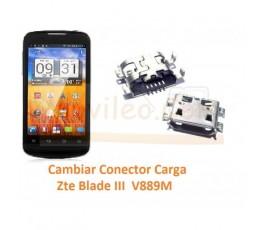 Cambiar Conector Carga Zte Blade III V889M - Imagen 1