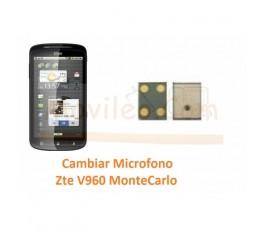 Cambiar Microfono Zte V960 Orange Montecarlo - Imagen 1