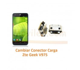 Cambiar Conector Carga Zte Geek V975 - Imagen 1