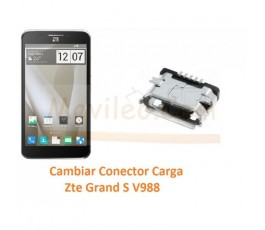 Cambiar Conector Carga Zte Grand S V988 - Imagen 1