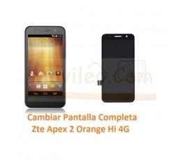 Cambiar Pantalla Completa Zte Apex 2 Orange Hi 4G - Imagen 1