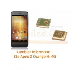 Cambiar Microfono Zte Apex 2 Orange Hi 4G - Imagen 1