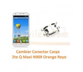 Cambiar Conector Carga Zte Q Maxi N909 Orange Reyo - Imagen 1