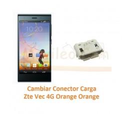 Cambiar Conector Carga Zte Vec 4G Orange Rono T50 - Imagen 1
