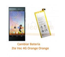 Cambiar Bateria Zte Vec 4G Orange Rono T50 - Imagen 1