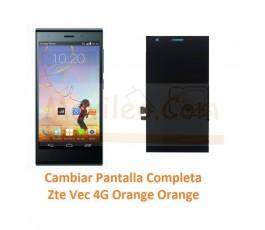 Cambiar Pantalla Completa Zte Vec 4G Orange Rono T50 - Imagen 1