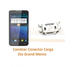 Cambiar Conector Carga Zte Grand Memo N5 - Imagen 1