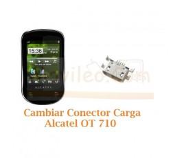 Cambiar Conector Carga Alcatel OT710 OT-710 - Imagen 1