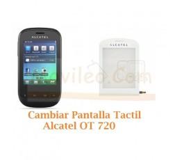 Cambiar Pantalla Tactil Alcatel OT720 OT-720 - Imagen 1