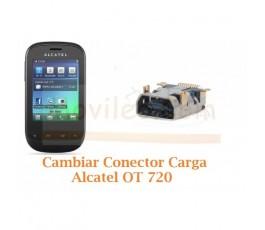 Cambiar Conector Carga para Alcatel OT720 OT-720 - Imagen 1