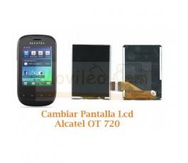 Cambiar Pantalla Lcd Display Alcatel OT720 OT-720 - Imagen 1