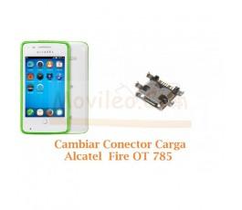 Cambiar Conector Carga Alcatel OT785 OT-785 - Imagen 1