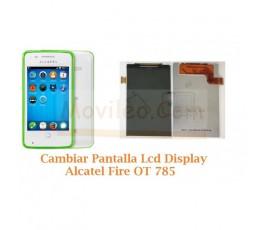 Cambiar Pantalla Lcd Display Alcatel OT-785 OT785 - Imagen 1